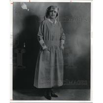 1981 Press Photo Red Cross Canteen worker from WWI - cva78659
