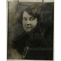 1923 Press Photo Mrs Elsie Huapp Jaswell - nee74487