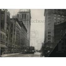 1925 Press Photo Euclid Ave., Playhouse Square - cva87807