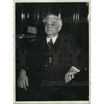 1931 Press Photo Sheriff John Sulzman of Cleveland Ohio  - nee83192