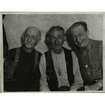 1934 Press Photo Benjamin Franklin 80, Anthony 78,& James Wadsworth 76 of LA