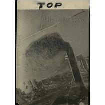 1925 Press Photo Cleveland Water works - cva97870