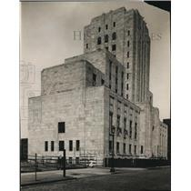 1930 Press Photo Cuyahoga County Criminal Court & Jail Bldg. - cva82371