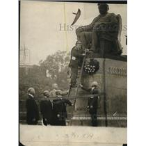 1915 Press Photo Statue of Marcus Alonzo Hanna - cva96007