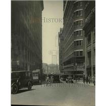 1925 Press Photo East Sixth Street from Euclid - cva98061