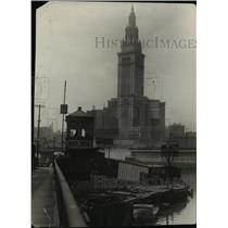1928 Press Photo Middle West 3rd Street bridge - cvb00514