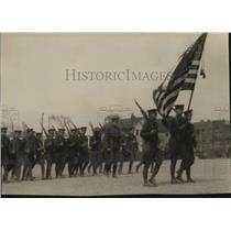 1926 Press Photo The Reserve officers Training corps of Cleveland schools
