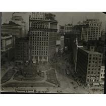 1927 Press Photo Public Square - cva89940