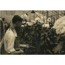 1922 Press Photo Joseph Brosh, senior at West Technical High school - cva85413