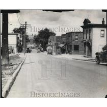 1929 Press Photo Early Scene at Mayfield Road looking South. - cva96513