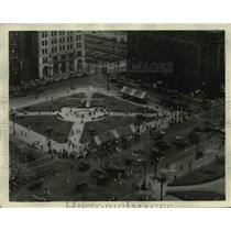 1931 Press Photo Public Square in Cleveland - cva89936