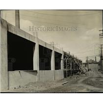 1930 Press Photo Cleveland Union Terminal construction - cva97406