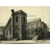 1923 Press Photo East 75th Street Evangelical Church - cva86550