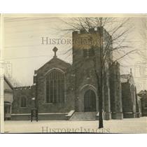 1924 Press Photo St Peter's Episcopal Church, Detroit Avenue at W. Clifton Blvd