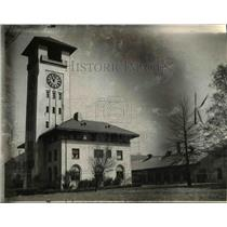 1945 Press Photo Administration Building - Warrenville Infirmary Ohio