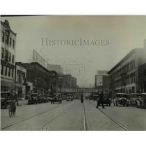 1931 Press Photo An early scene of the 55th Street of Euclid Avenue - cva97203