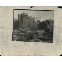 1929 Press Photo Cleveland Public Square - cva89981