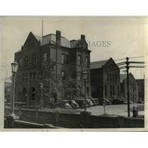 1936 Press Photo The eighth precinct of the Detroit Avenue Police Station