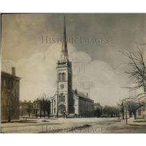 1924 Press Photo Euclid Ave & East 9th St looking North in 1880, Hickox Bldg
