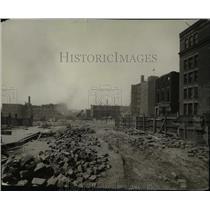1925 Press Photo Construction of Union Station on Square - cva97317