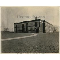 1926 Press Photo Garfield Heights High School at Blue Road Subd., Euclid Valley