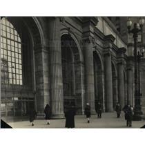 1930 Press Photo Entrance of the Union Station - cva99530