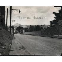 1929 Press Photo Mayfield Road looking North. - cva96512