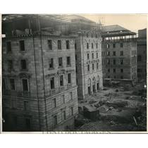 1931 Press Photo The east side of the new Board of Education building