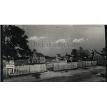 1931 Press Photo Street scene of the Schoenbrunn Ohio - cvb04510