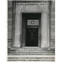 1932 Press Photo Cleveland Central Police Station - cva85988