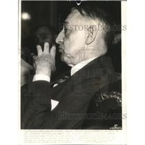 1917 Wire Photo Scandrett denies Truman charge about material bankcruptcy