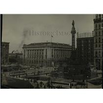 1924 Press Photo Cleveland Public Square - cva89939