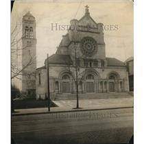 1916 Press Photo St. Agnes Catholic Church - cva87199