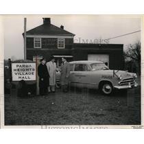 1953 Press Photo Parma Heights Purchase Dodge Red Ram V-5 - cvb04568