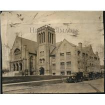 1924 Press Photo The Lakewood Methodist Episcopal Church - cva86432