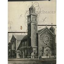1917 Press Photo St. John Nepomucene's Church - cva87109