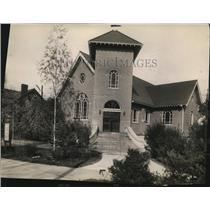 1922 Press Photo Pilgrim Evangelical Lutheran Church in Missouri Synod
