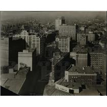 1926 Press Photo Cleveland Hurm Road-East 9th and Prospect - cva97223