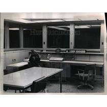 1965 Press Photo Radio Operator Russel W. Girt - cvb01381