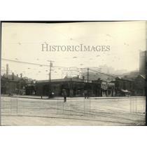 1924 Press Photo South east corner of Superior & East 9th St - cva95290
