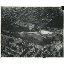 1929 Press Photo Airview of Cleveland Ohio. - cva83487