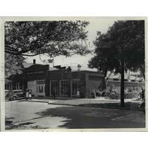 1938 Press Photo Exterior of Sandusky Industrial Arts School - cvb03036