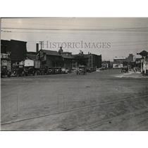 1931 Press Photo Carnegie Avenue looking East from E. 14th Street - cva99844