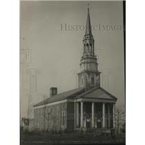 1924 Press Photo Pilgrim Congregation Church, Shaker Hts, Ohio - cva86060