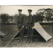 1926 Press Photo Harvey Bach and Nelson Rauschkolb won the fastest tent erecting