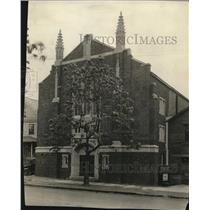 1923 Press Photo Glenville First Methodist Church, Parkwood Drive & St Clair Ave