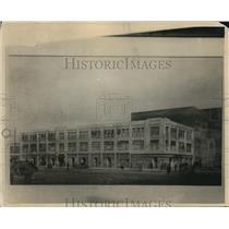 1925 Press Photo The Huron Ninth building - cva82693