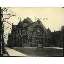 1924 Press Photo Euclid Ave Christian Church, Euclid & East 100th St - cva86547