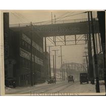 1923 Press Photo Scene of Ferry Cap & Serew Co Payroll Robbery - cva96529