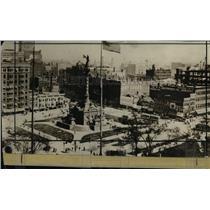 1922 Press Photo The May Company Building in Ontario Street in 1897 - cva90008